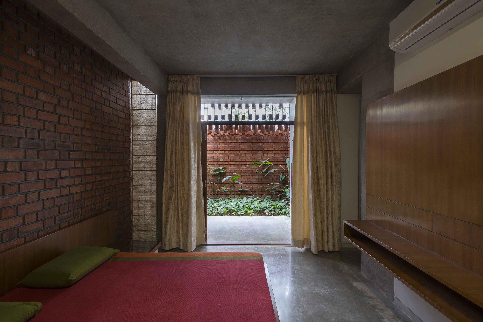 Gallery Of Brick House Architecture Paradigm 7