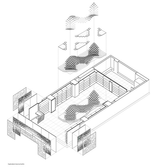 Exploded Axonometric