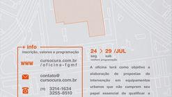 FGMF Arquitetos realizará Workshop no CURA no final de Julho