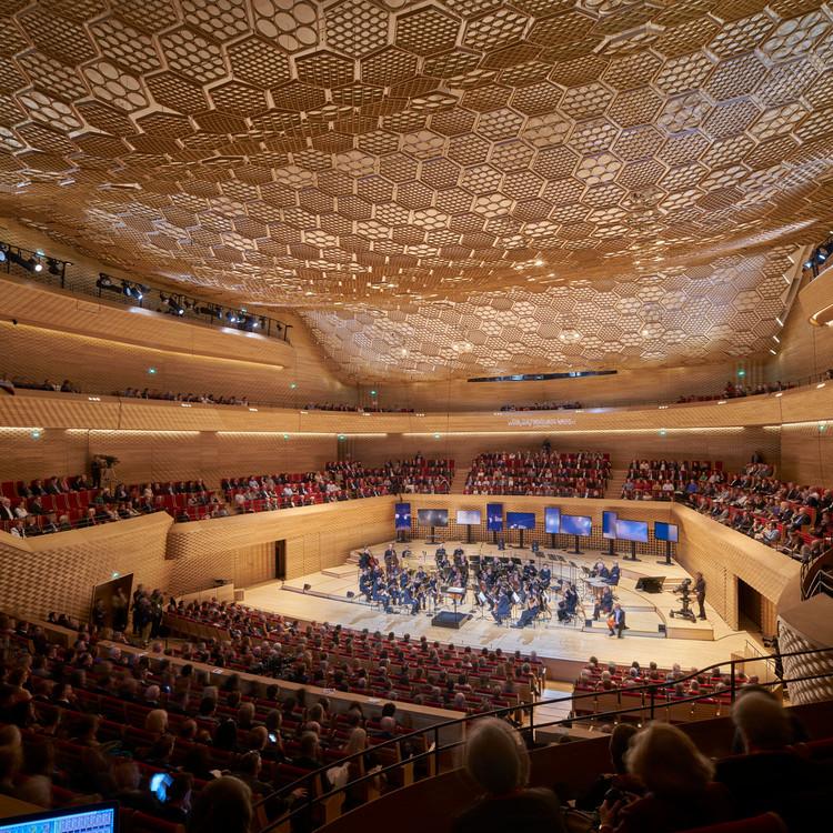 La seine musicale shigeru ban architects archdaily - Programme la seine musicale ...
