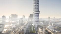 V8 Architects projeta a maior torre residencial de Roterdã