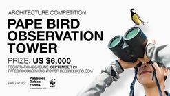 Convocatoria: la torre de observación de aves en Pape