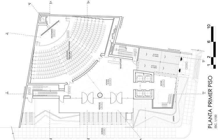 Planta . Image Cortesía de Estudio Arquitectura & Ciudad