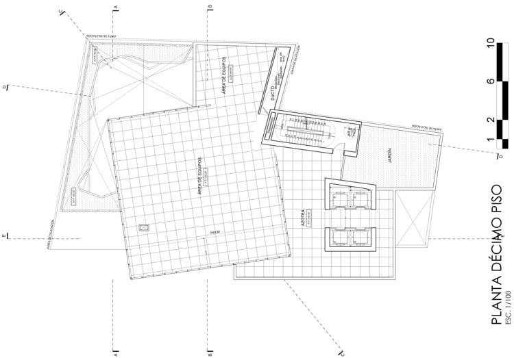 Azotea. Image Cortesía de Estudio Arquitectura & Ciudad