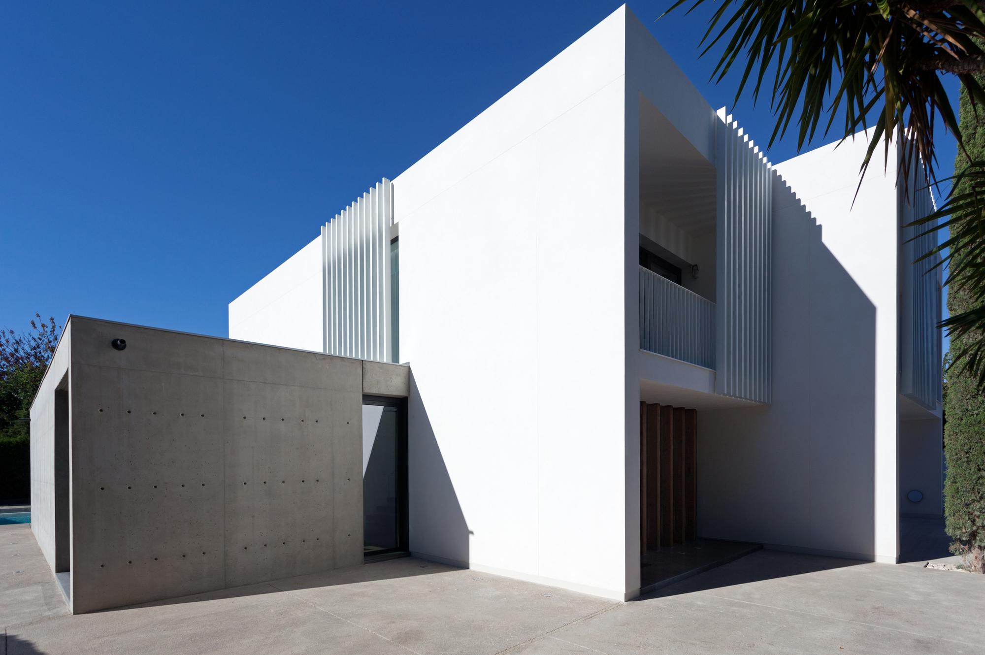 Forment house mano de santo archdaily - Muros de pladur ...