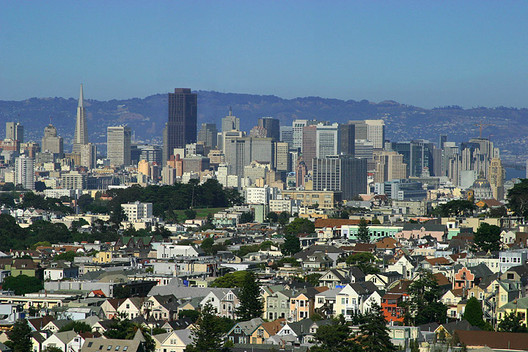 #9. San Francisco. Median Price: $835,400, Median Income: $90,400, Median Multiple: 9.3. Image © Aaron Logan <a href='https://commons.wikimedia.org/wiki/File:Lightmatter_sanfrancisco.jpg'>via Wikimedia</a> licensed under <a href='http://https://creativecommons.org/licenses/by/1.0/deed.en'>CC BY 1.0</a>