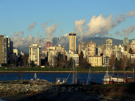 #3 Vancouver. Median Price: $830,100, Median Income: $70,500, Median Multiple: 11.8. Image © Andrew Raun <a href='https://commons.wikimedia.org/wiki/File:English_Bay_Vancouver.jpg'>via Wikimedia</a> licensed under <a href='http://https://creativecommons.org/licenses/by-sa/2.0/deed.en'>CC BY-SA 2.0</a>