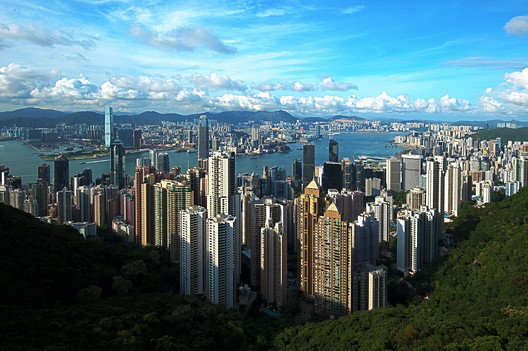 #1 Hong Kong. Median Price: $5,422,000, Median Income: $300,000, Median Multiple: 18.1. Image © <a href='https://commons.wikimedia.org/wiki/File:1_hongkong_panorama_victoria_peak_2011.JPG'>Wikimedia user chensiyuan</a> licensed under <a href='http://https://creativecommons.org/licenses/by-sa/4.0/deed.en'>CC BY-SA 4.0</a>