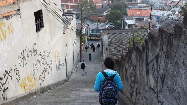 A importância dos deslocamentos ativos na infância e adolescência, © Cidade Ativa