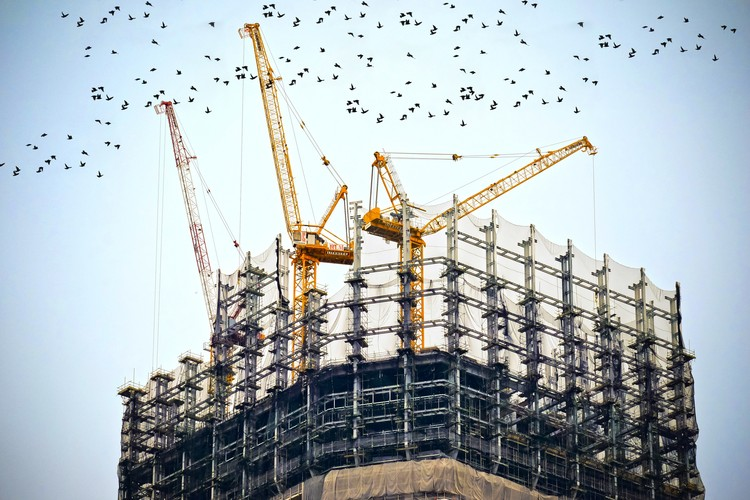 What Construction Can Learn from the Tech Industry's Economies of Scale, <a href='http://https://www.pexels.com/photo/tower-crane-on-top-of-building-29106/'>undefined</a>