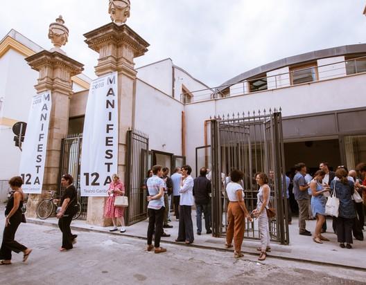 Palermo Atlas announcement, Teatro Garibaldi, Palermo. Image © CAVE Studio, courtesy Manifesta