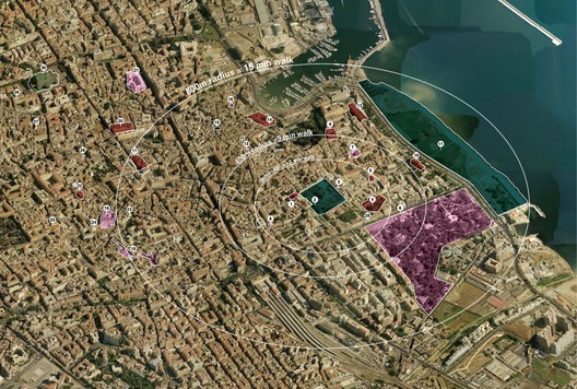 Strategy of Intervention, Palermo Atlas. Image Courtesy of OMA