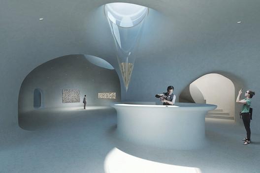 Bar. Image Courtesy of DUNE ART SPACE