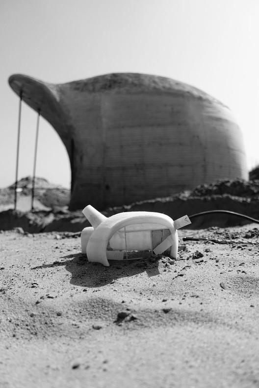 Construction. Image Courtesy of DUNE ART SPACE