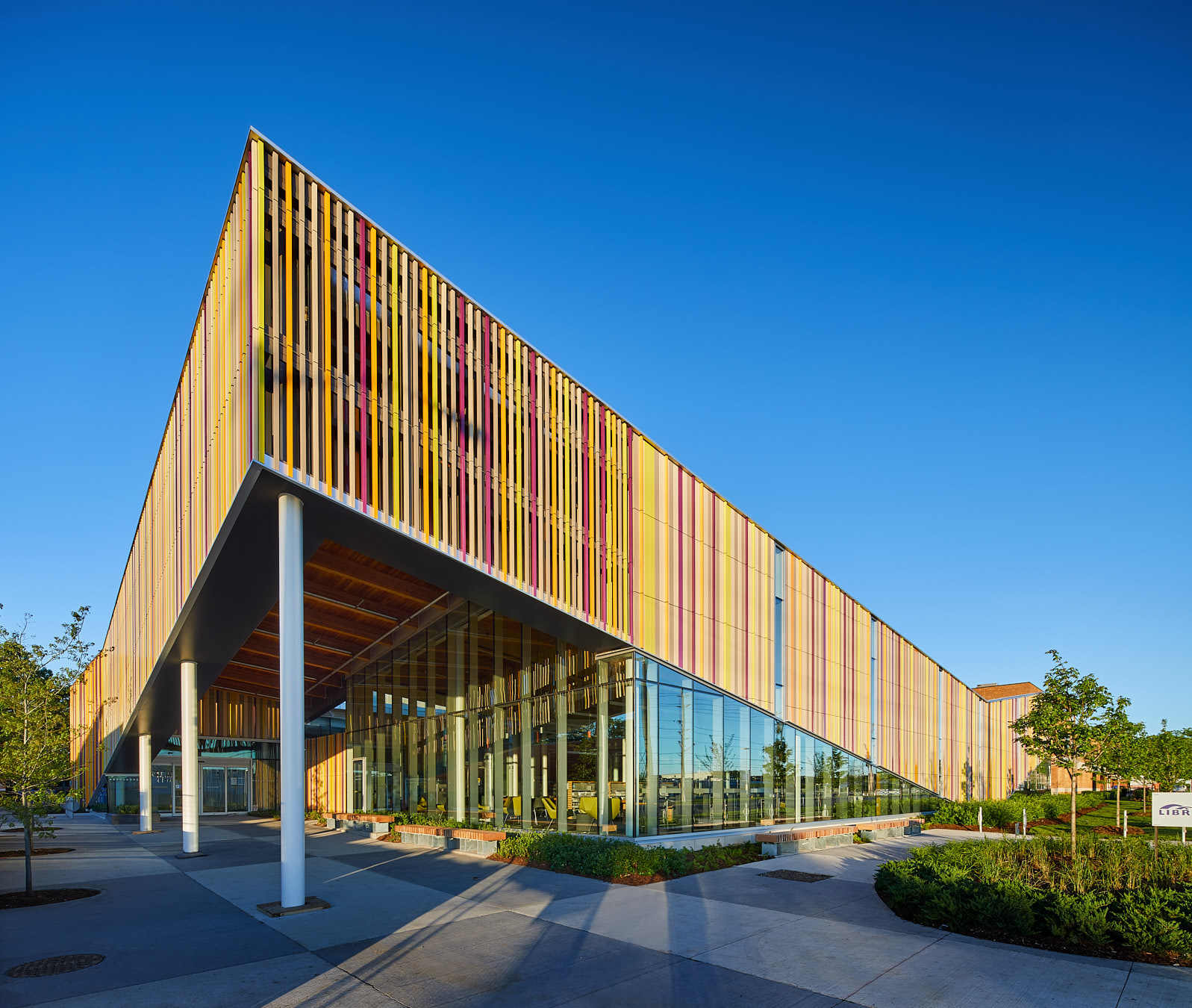 Albion library perkins will canada archdaily for New construction design ideas