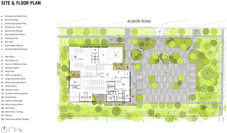 Site and Floor Plan
