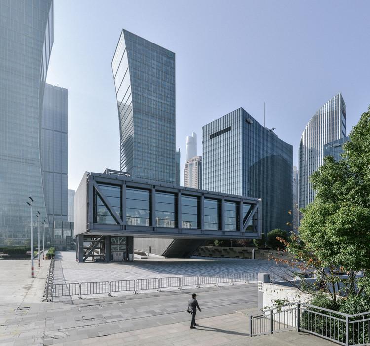 Shanghai LuJiaZui Exhibition Centre / OMA, Courtesy of OMA