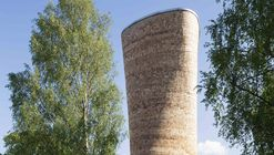 Ventilation Towers for the Northern Link  / Rundquist Arkitekter