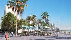 EMBT diseña terrazas exteriores en el paseo de La Barceloneta en Barcelona