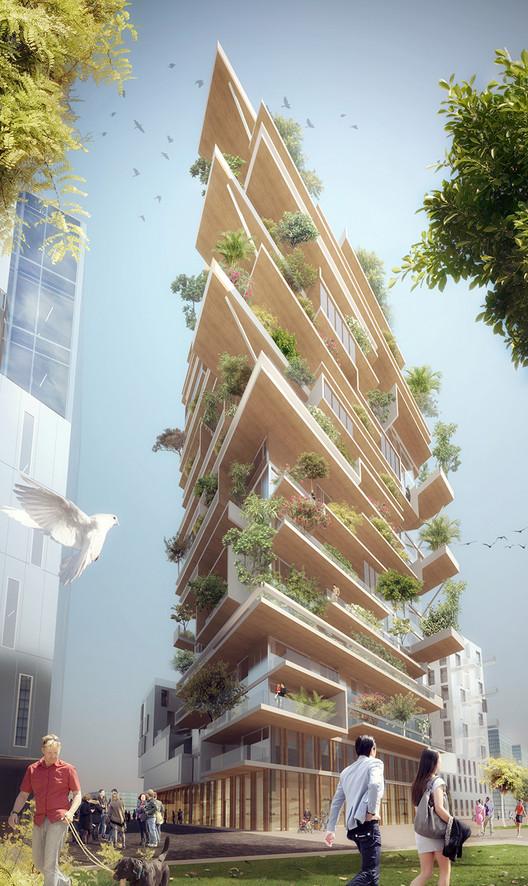 Residential: Jean-Paul Viguier et Associés / Hypérion. Image Courtesy of WAF