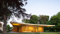 St. Gerlach Pavilion and Manor Farm / Mecanoo