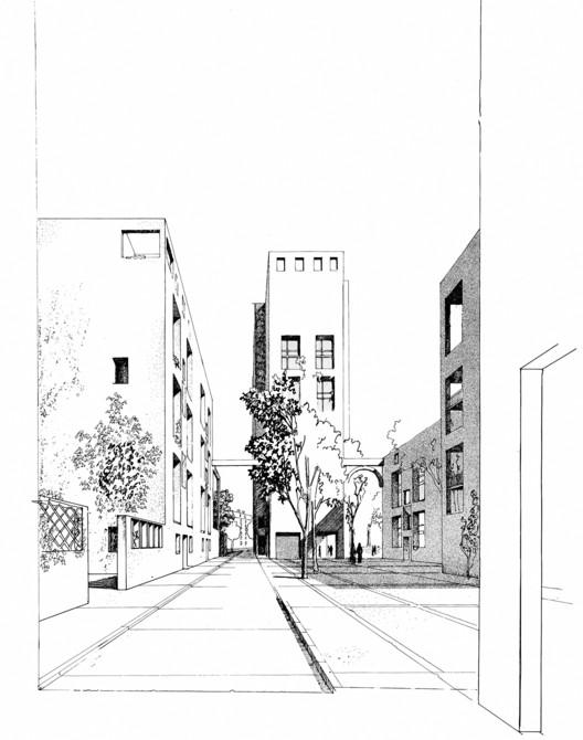 Les Hautes Formes Housing, Paris, 1979. Image © Christian de Portzamparc