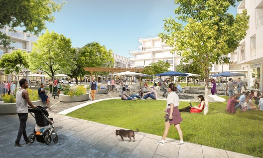 OMA New York to Design Mixed-Use Menlo Park Campus for Facebook