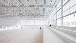 Multi-Sport Pavilion and Classroom Complex / Alberto Campo Baeza