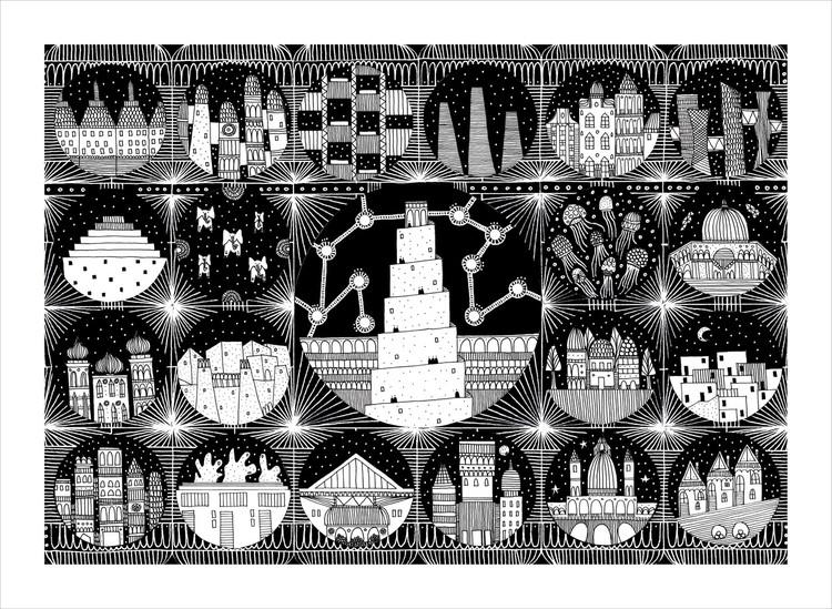Three Principles of Architecture as Revealed by Italo Calvino's 'Invisible Cities', Fedora. Image © Karina Puente Frantzen