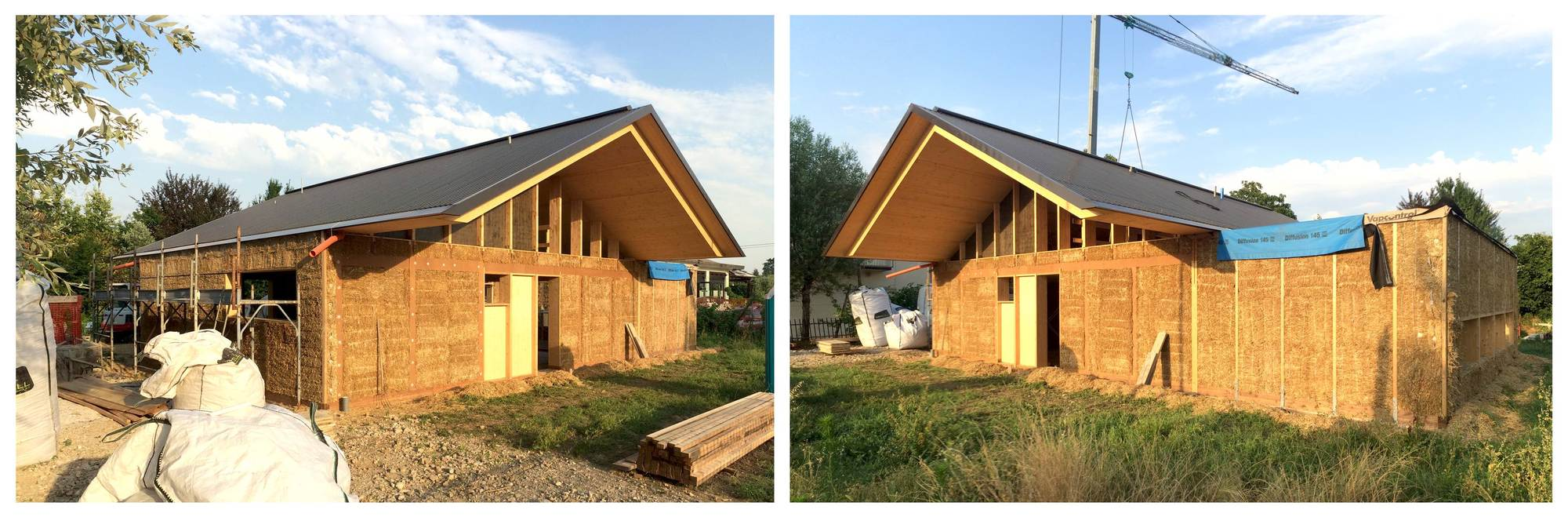Gallery of scl straw bale house jimmi pianezzola for Autoconstruction maison prix