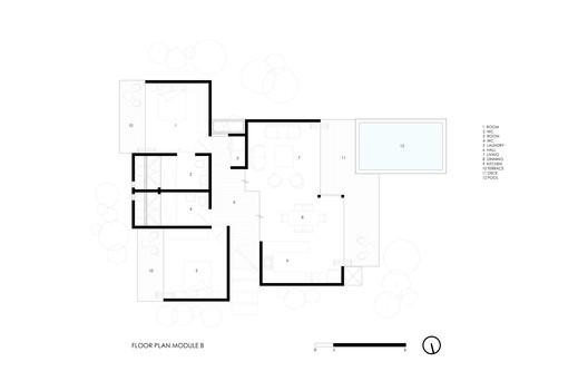 Floor Plan Module B