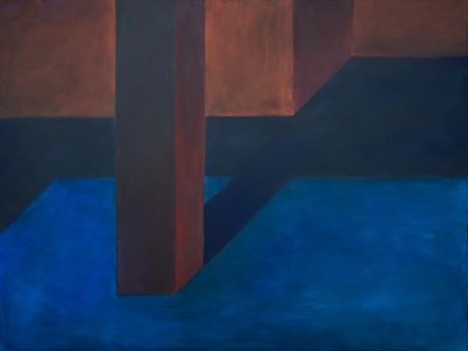 71007161632 (Interior número 001), óleo sobre lienzo, 180 x 240 cm, 2016. Image © Solo Galerie