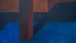 Pezo von Ellrichshausen compone intrigantes espacios cotidianos en las pinturas de 'Exterior'