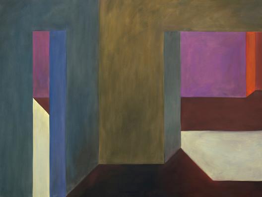 71809161013 (Interior número 020), óleo sobre lienzo, 180 x 240 cm, 2016. Image © Solo Galerie