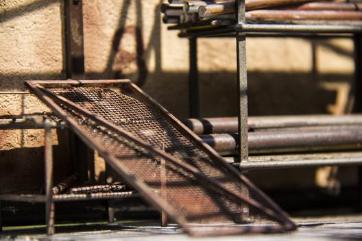 """Pipes Warehouse"". Image © Ali Alamedy"