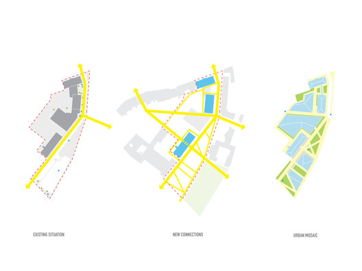 Plan diagrams. Image © MVRDV