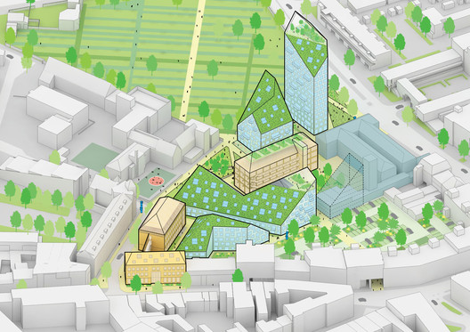 Overview diagram. Image © MVRDV