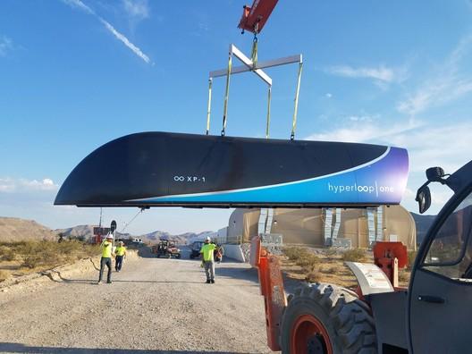 Cortesía de Hyperloop One