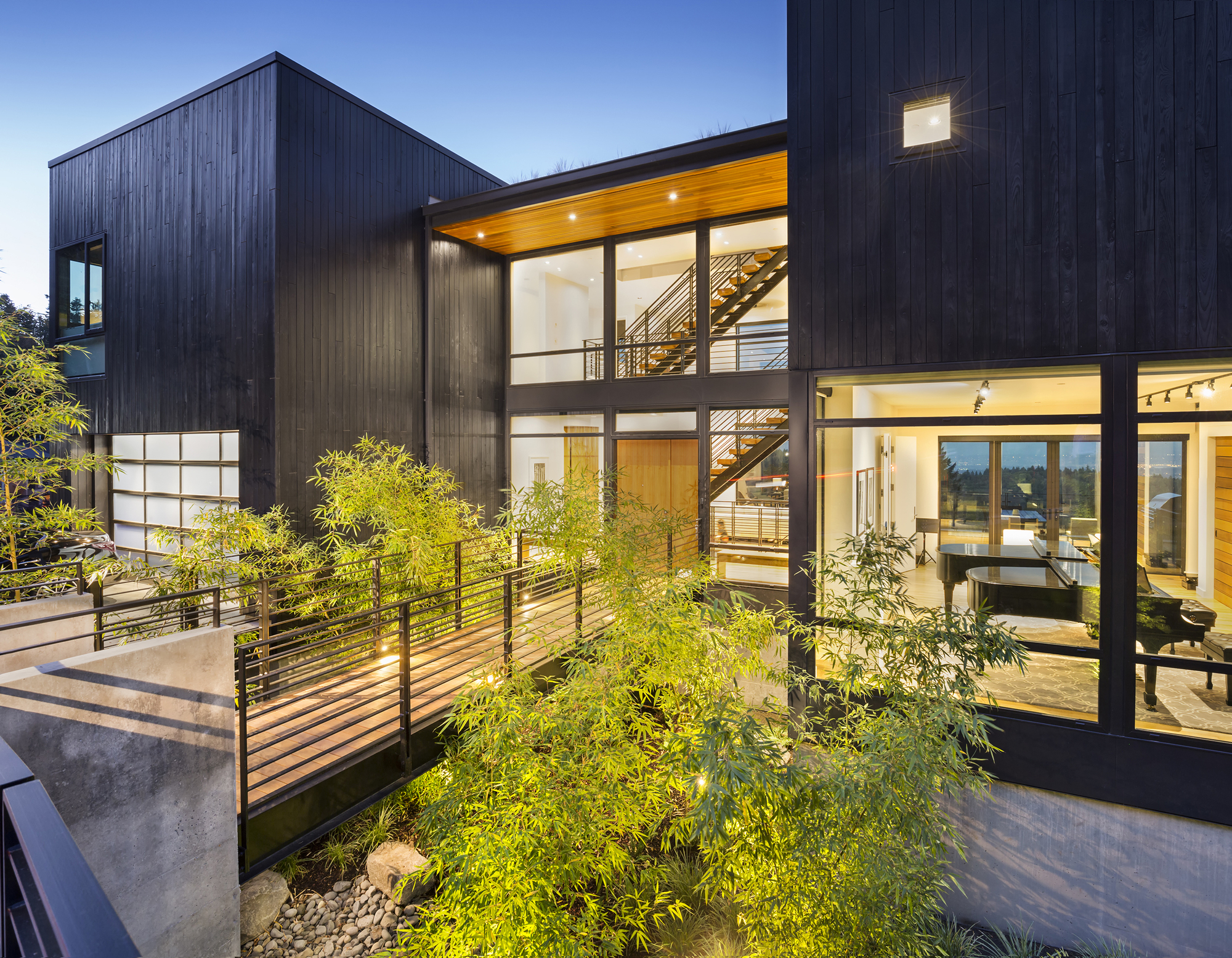 gallery of music box residence scott edwards. Black Bedroom Furniture Sets. Home Design Ideas