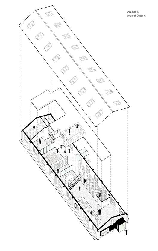 Depot A Axonometric