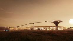 MAD Architects presenta el futurístico diseño de las oficinas centrales de Faraday Future