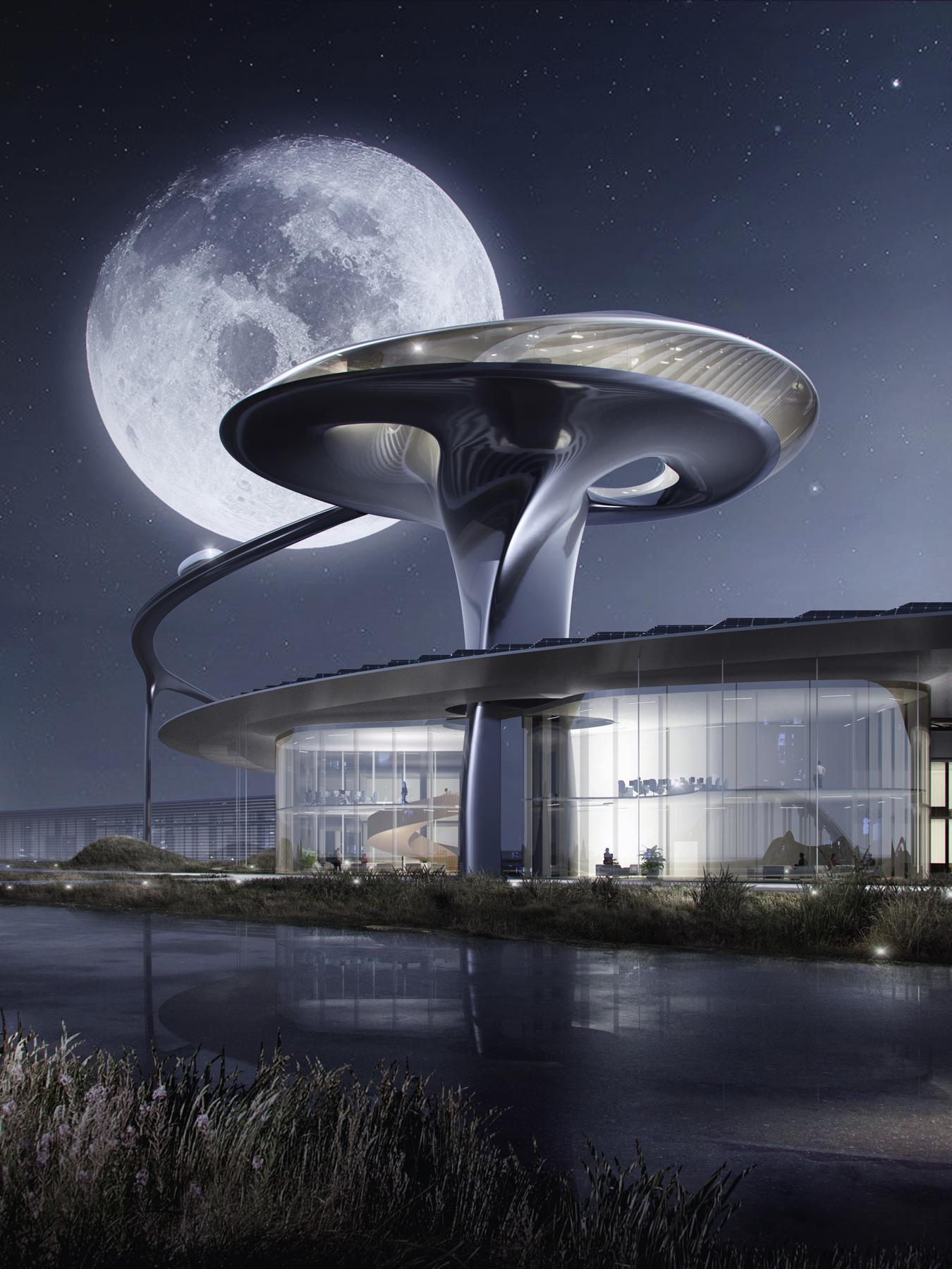 Gallery Of Mad Architects Designs Futuristic Headquarters