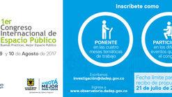 Congreso Internacional de Espacio Público en Bogotá