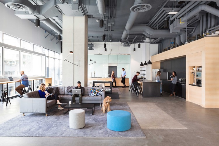 Bench accounting office interiors perkins will archdaily for Interior design companies vancouver