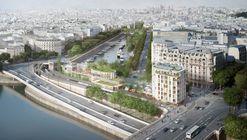 SO-IL + laisné roussel Win Competition for Innovative Riverfront Development in Paris