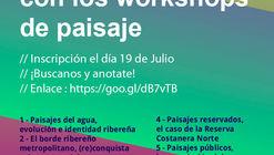 Workshops de planificación y diseño del paisaje en la Bienal Nacional de Diseño - UBA / Argentina