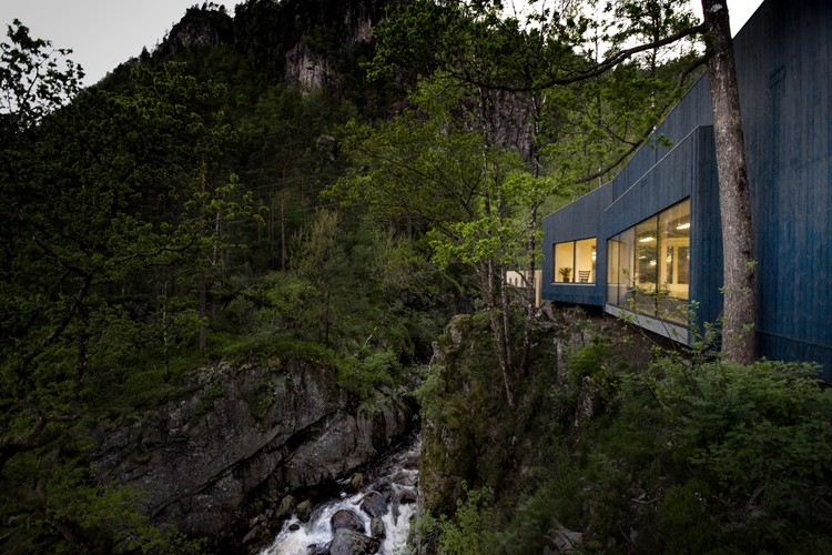 Kvåsfossen / Rever & Drage Architects, © Tom Auger