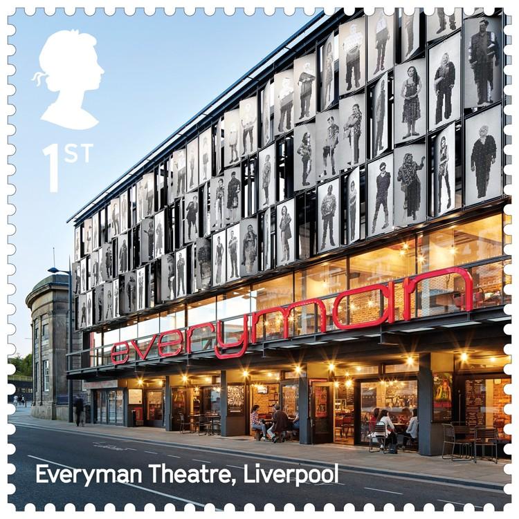 Everyman Theatre / Haworth Tompkins. Image Courtesy of Royal Mail