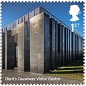 Giants Causeway Visitor Centre / Heneghan & Peng Architects. Image Courtesy of Royal Mail