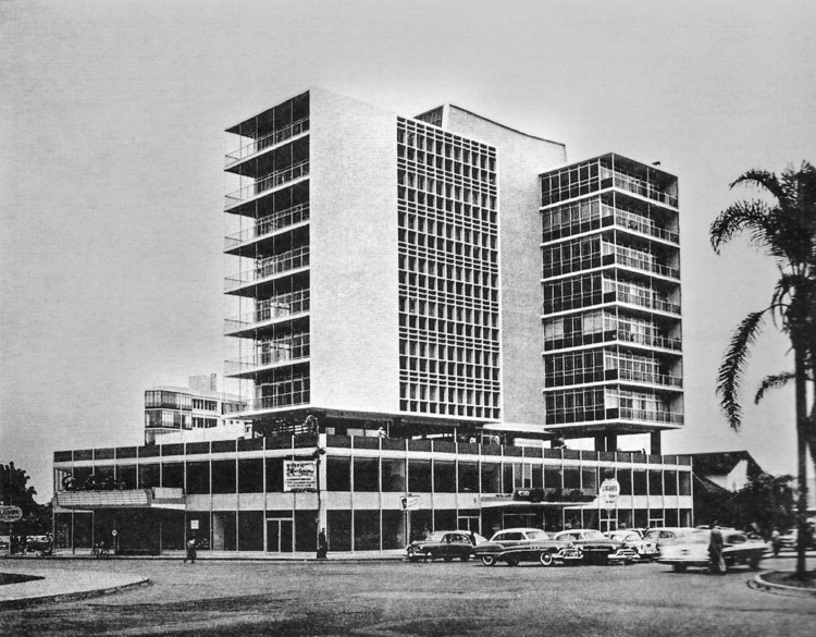 Edificio El Pacifico. Image Cortesía de CAMMP